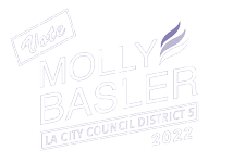 Elect Molly Basler for Los Angeles City Council Logo